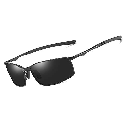 YOULIER Gafas de sol para hombre/mujer, diseño de moda, marco de metal, gafas de sol Uv400 para hombre