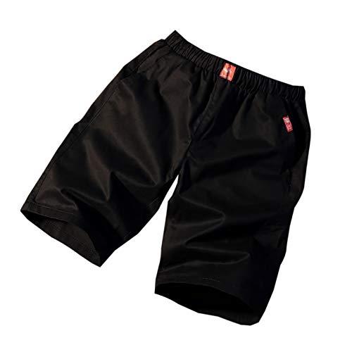 WSLCN Homme Rétro Baggy Cargo Shorts Coton Outdoor Court Pantalon Casual Multi-Poches Shorts de Combat D FR 38 (Asie 2XL)