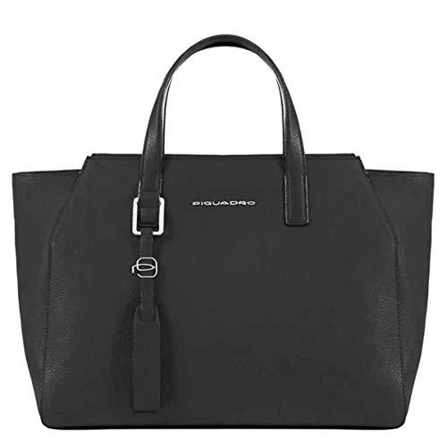 Piquadro Muse borsa donna porta iPad®Air/Pro 9,7 con tracolla rimovibile - BD4326MU (Nero)