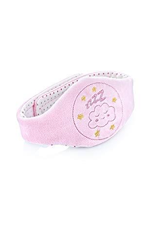 Babyjem Gürtel mit Kirschkern, Rosa,Baby Kirschkernkissen ideal für Bauchschmerzen und Blähungen, Gürtel mit Kirschsteinen gefüllt, Massage Wärmflasche