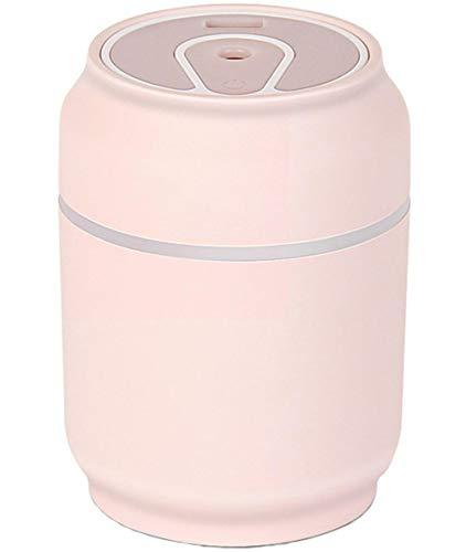 Shenhai Humidificador de latas Humidificador doméstico Humidificador de Escritorio Humidificador ultrasónico Mini humidificador Rosa Talla única