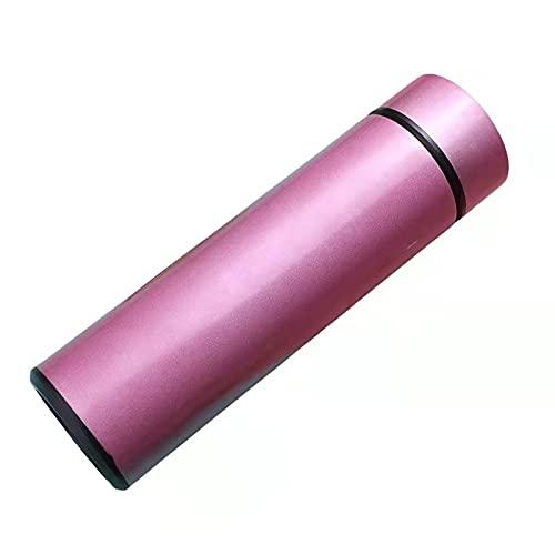 Botella de 500 ml de Smart Thermos Temperatura de visualización Digital de Acero Inoxidable Tazas de Café Térmicas Inteligentes