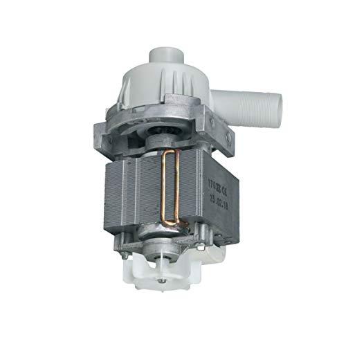 Ablaufpumpe Pumpe Laugenpumpe Entleerungspumpe Hanning mit Pumpenstutzen Spülmaschine Geschirrspüler ORIGINAL Miele 10287540