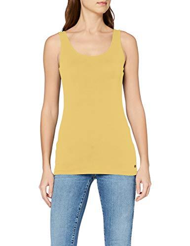 ESPRIT Damen 997EE1K816 Top, Gelb (Yellow 4 753), Large (Herstellergröße: L)