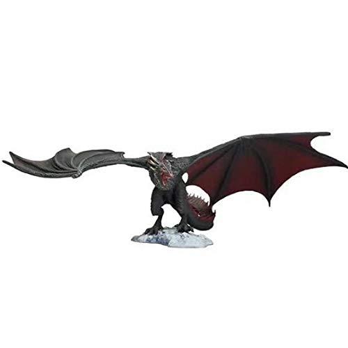 ioth Animado Juego de Tronos 15cm McFarlane Dragón Negro articulado movible Decorativo Modelo de Juguete