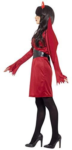 Smiffys Costume Economico Diavolo, comprende Abito, Ali, Cinta e Corna