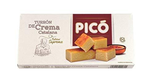 Picó - Turrón de Crema Catalana, Turron blando de Crema Catalana - Calidad Suprema - 200gr (Sin Gluten)