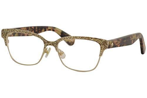 Kate Spade New York Eyeglasses Kate Spade Ladonna 0S41 Rose Gold Pink Havana, 53-15-140