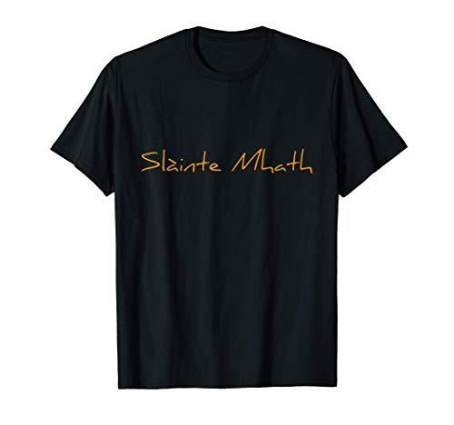 WHISKY Trinkspruch Schottland, Cheers Whiskey: SLÀINTE MHATH T-Shirt