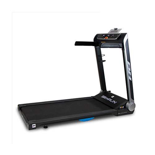 BH Fitness SlimRun G6320 - Tapis roulant elettrico pieghevole, 16 km/h, 121 x 51 cm, ultra compatto e super leggero, programmi predefiniti