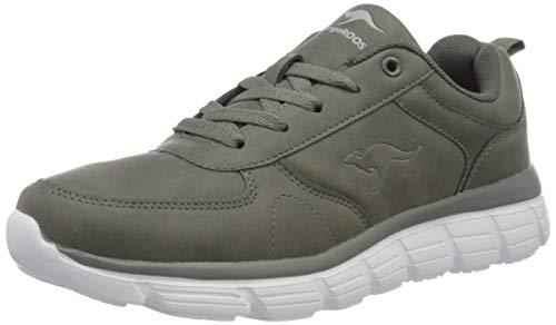 KangaROOS Damen KR-Arla Sneaker, Steel Grey, 42 M EU