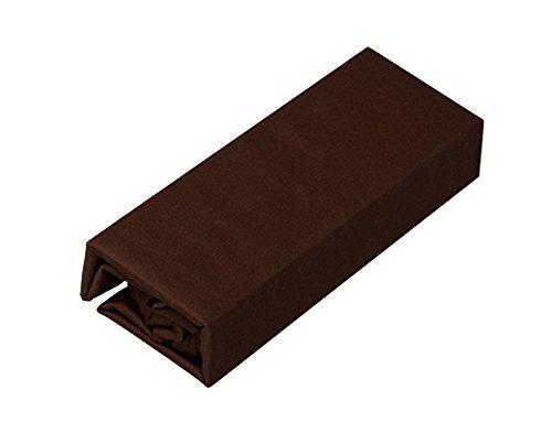 アイリスオーヤマ 布団カバー 敷布団用 綿100% ダブル 145×215cm ブラウン CMS-D