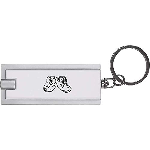 Azeeda 'Baby Schuhe' Schlüsselanhänger LED Taschenlampe (KT00006456)