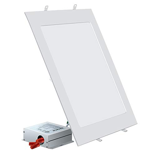 SAYHON 11 inch Ultra-Thin Square Recessed Lighting