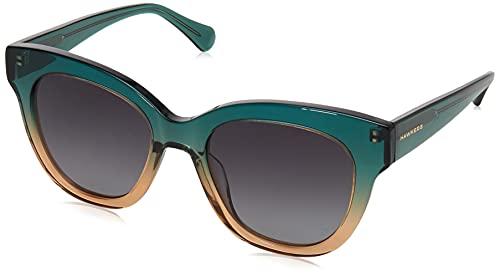 HAWKERS Audrey Gafas de Sol, Verde Esmeralda, One Size para Mujer