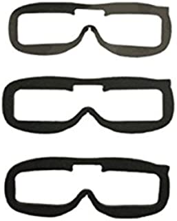 3 PCS Fatshark Replacement Faceplate Foam Pads For FPV Goggles