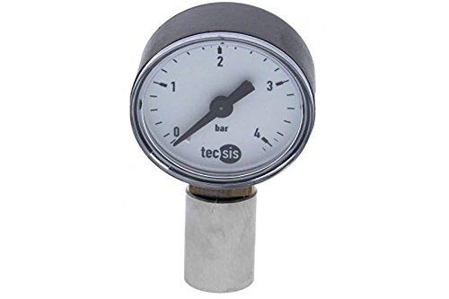 CO2 Druckmesser für NC und CC Kupplungen (7/16') für Hobbybrauer Hausbrauerei