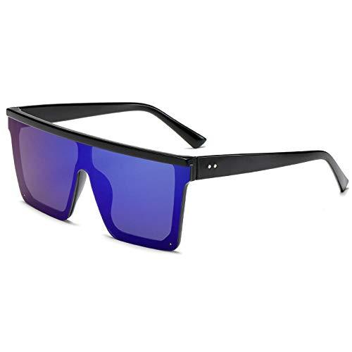 XXBFDT Golf/conducción/pesca/viaje Gafas - Gafas de sol cuadradas retro en caja grande-4