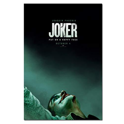 Película Joker Poster Joker Origin Movie Prints Comics Arte De La Pared Decoración Imágenes Joaquin Phoenix Film Posters 50 × 70Cm Sin Marco