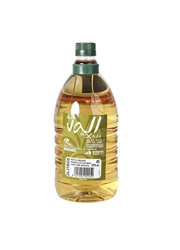 Envase de 2 litros de Moscatel Mistela con denominación de orige protegida