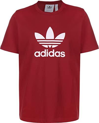 adidas Trefoil T-Shirt (Short Sleeve), Hombre, Scarle, S