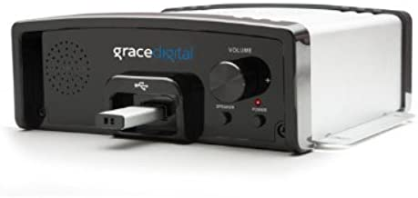 Grace Digital Message and Music on Hold USB Digital MP3 Player, Silver (GDI-USBM10)