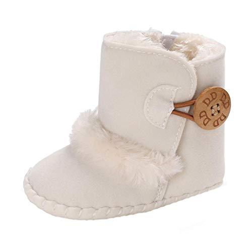 Peuter Baby Meisjes Sneeuwlaarzen, HOMEBABY Katoen Warm wieg Schoenen Winter Zachte Zool Sneeuwlaarzen schattig