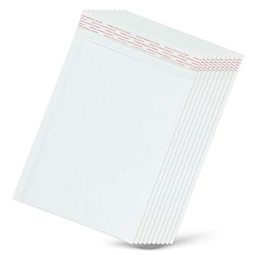 JACKAL SUN DVD クッション封筒 - 10枚セット シール付き メール便袋 緩衝材 白無地 トールケース メール便 袋