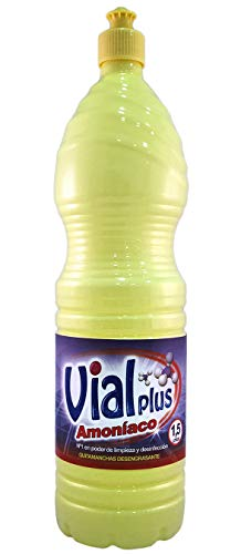 Vialplus Amoniaco 1,5 L.Normal, Multicolor, 1.5 litros