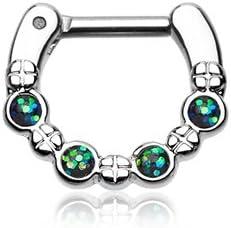 WildKlass Jewelry Septum Clicker 14g 1/4