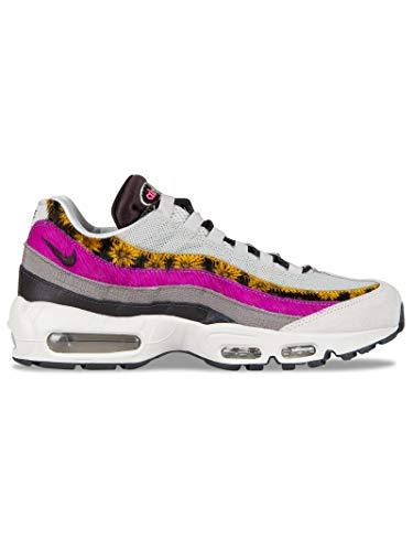 Nike Women's AIR MAX 95 PRM Sneaker, Light Bone White Velvet Brown Olive Grey, 5.5 UK