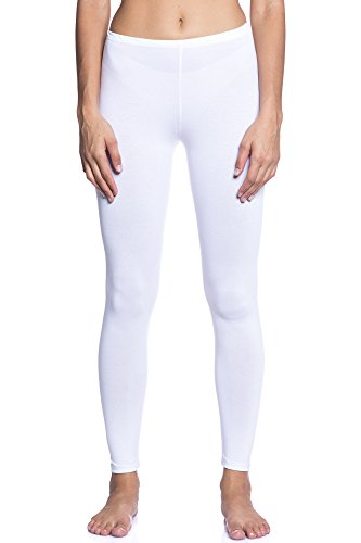 Abbino Dominic Basic Legging Damen - Made in Italy - 12 Farben - Modern Stylish Übergang Sommer Herbst Leggin Damenleggin Fitness Sexy...