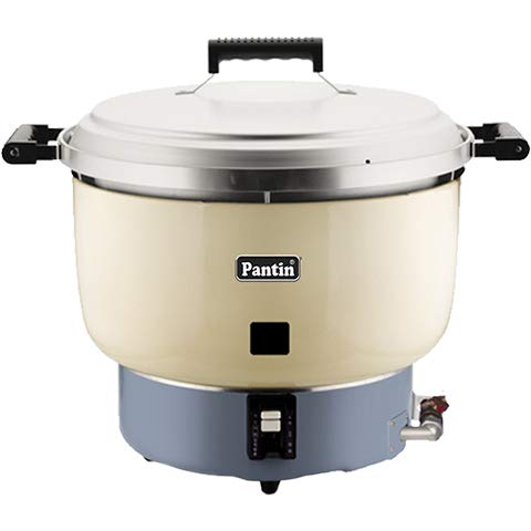 Pantin (Natural Gas) Rice Cooker/Warmer 110 Cup (55 Cup Raw) Commercial Restaurant Large Capacity - 35,000 BTU, Made in Korea (NSF, UL Listed)