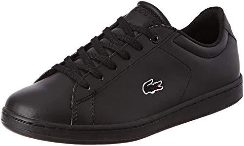 Lacoste Unisex-Child 737SUJ001302H_35 Sneaker, Black, EU