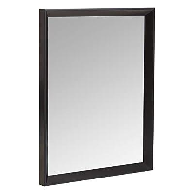 "AmazonBasics Rectangular Wall Mirror 16x20"""