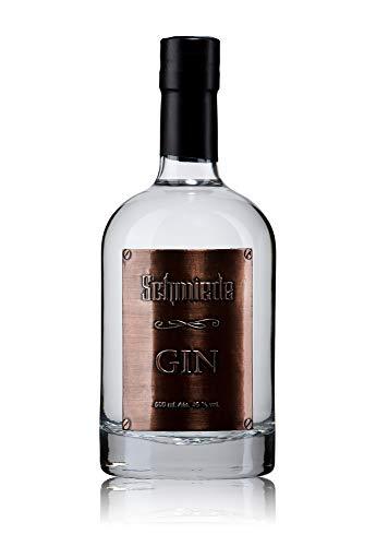 Schmiede Mosel Dry Gin - Steilster Gin IWSC Silver Edelmanufaktur Kupferetikett Deutschland (0,5l | 45,0%vol.)