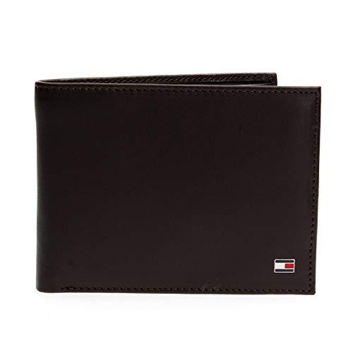Tommy Hilfiger Herren ETON CC AND COIN POCKET Geldbörsen, Braun (Brown 041), 14x10x2 cm