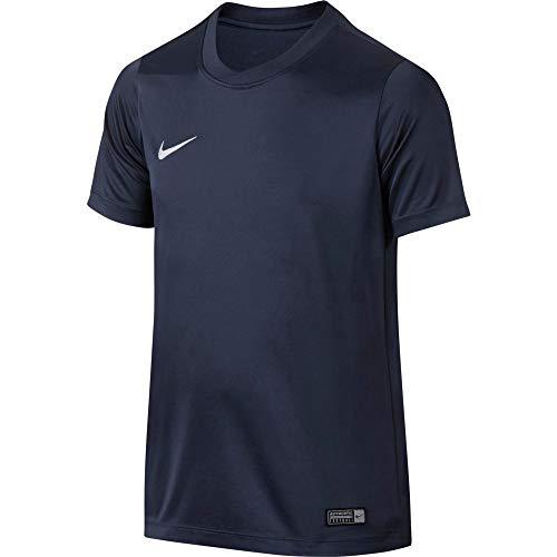Nike Kinder Park Vi Trikot T-shirt, 725984-410 ,Blau (Midnight Navy / Blanco), XS