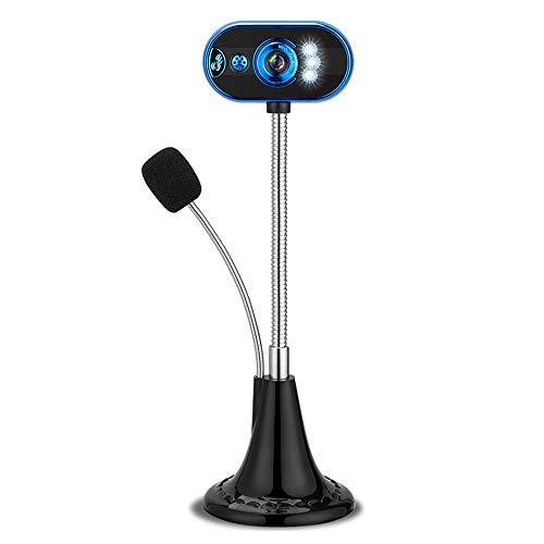 Mabor LED HD Webcam de escritorio de video USB con micrófono cámara de visión nocturna