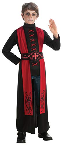 Deluxe Child's Gothic Priest Costume, Large