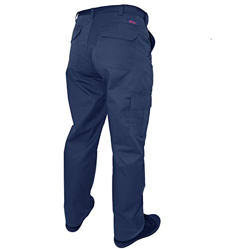 Lee Cooper Workwear Cargo Pant, 40R, marine, LCPNT205 - 4
