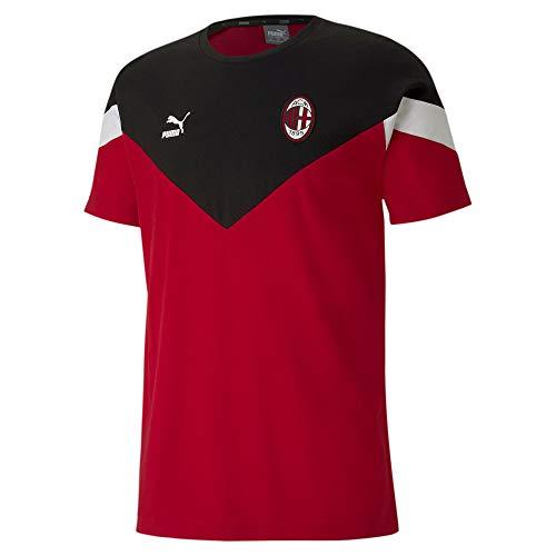 PUMA AC Milan Iconic MCS Herren T-Shirt Tango Red S