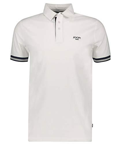 Joop! Herren Poloshirt Sasha Regular Fit Kurzarm Weiss (10) XL