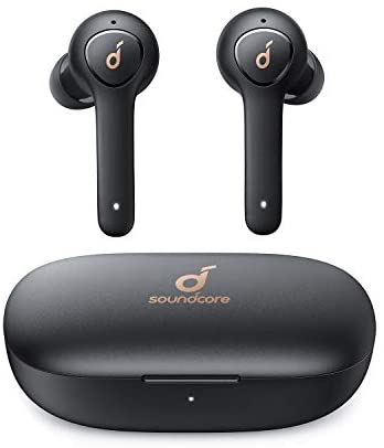 Wireless Earbuds, Anker Soundcore Life P2 Wireless Headphones with cVc 8.0 Noise Reduction, Bluetooth Earbuds with Clear Sound, 40H Playtime, IPX7 Waterproof, Wireless Earphones for Work, Home Office
