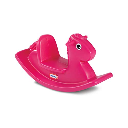 Little Tikes Caballo mecedora Magenta