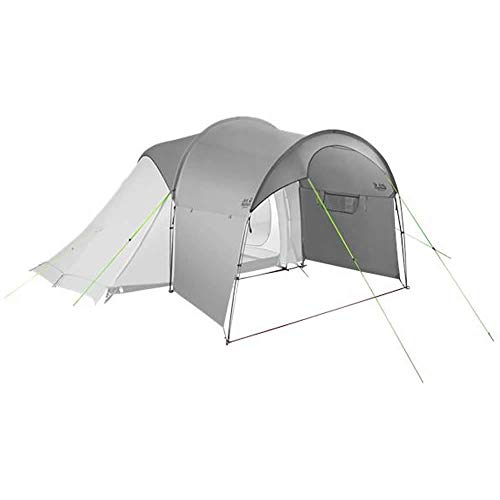 Jack Wolfskin Unisex– Adult's Front Porch Throwing Tents, Slate Grey, standard size