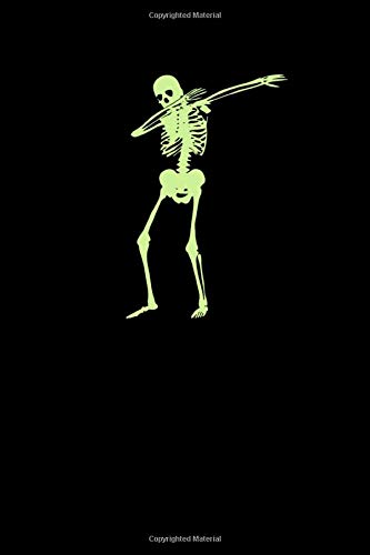 Dabbing Skeleton Dab Dance: Halloween Notebook | All Souls Day November Creepy Scary Journal Mini Notepad Funny Humor Gift College Ruled (6