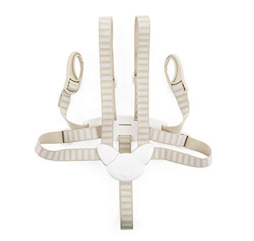 STOKKE® Haltegurt - Sicherheitsgurt als Zubehör für das TRIPP TRAPP® Baby Set – Farbe: Beige