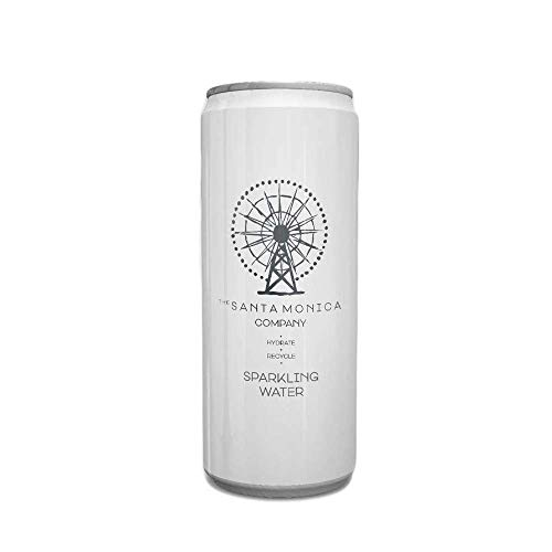 SM Sparkling Water - Refreshing Soft Drink & Cocktail Mixer with Natural Taste - With No Sugar & Sweeteners - Manufactured in the UK - Pack of 12 Recycling & Eco - Friendly Cans
