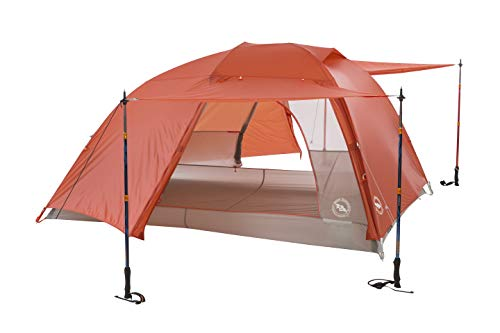 Big Agnes Copper Spur HV UL Backpacking Tent, 3 Person (Orange)